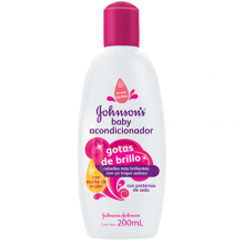 Acondicionador Gotas de Brillo JOHNSON'S® baby